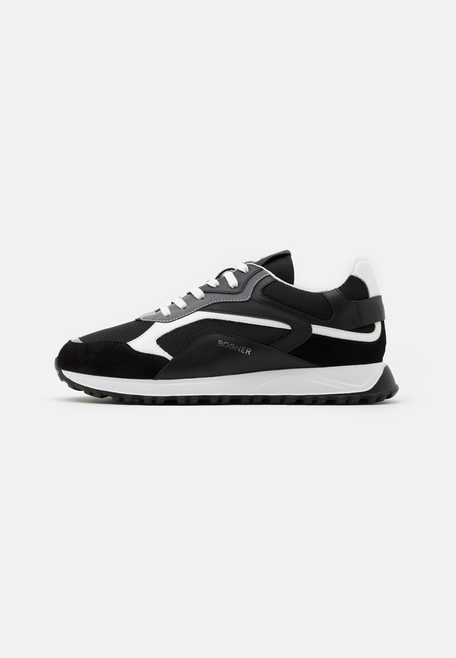 MICHIGAN - Sneakers laag - black/white
