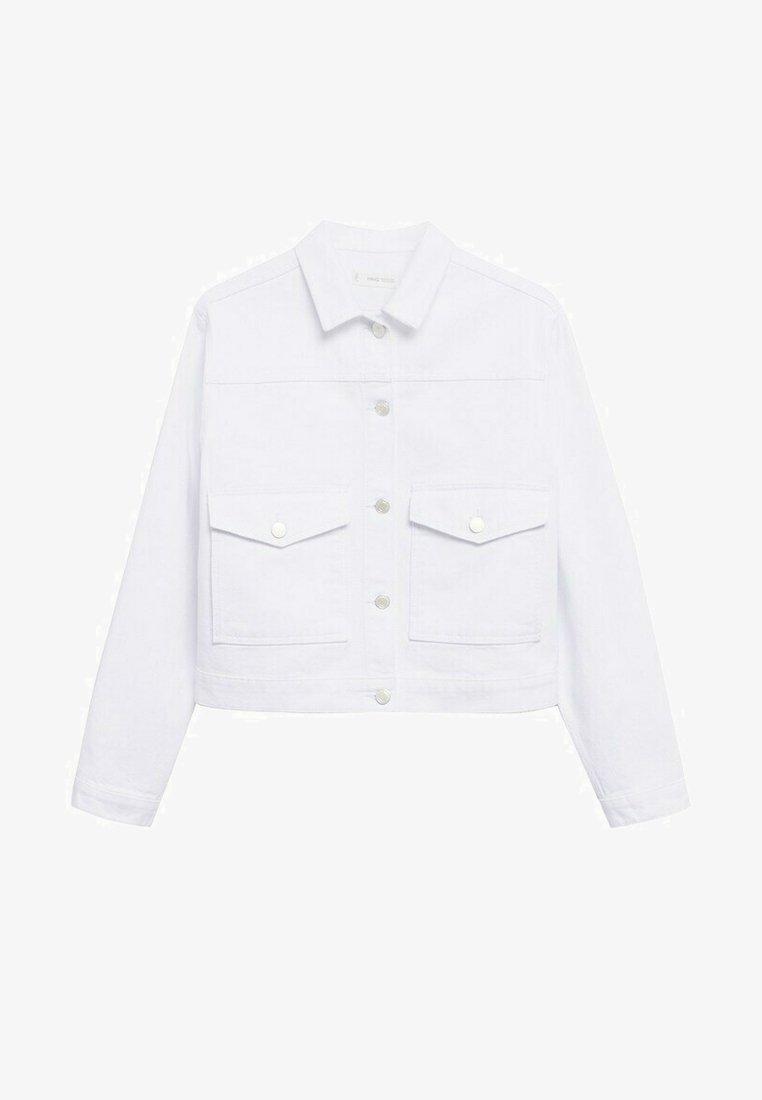Mango - BLANQUI - Denim jacket - weiß