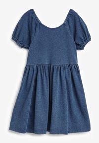 Next - Vestido vaquero - blue denim - 1