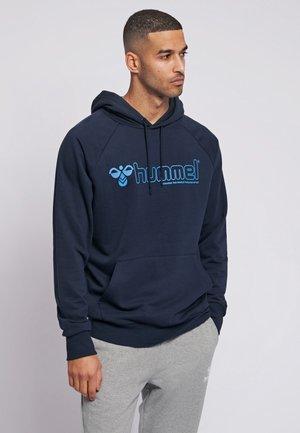 HMLISAM HOODIE - Hættetrøjer - dark blue