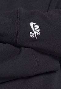 Nike SB - STRIPES CREW UNISEX - Sweatshirt - black/white - 4