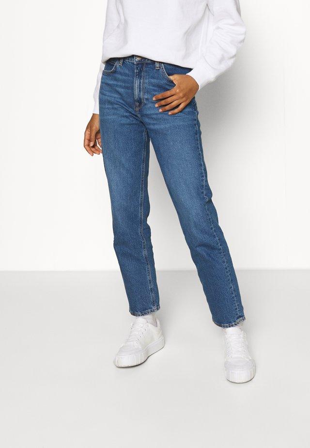 CAROL - Džíny Straight Fit - worn iris