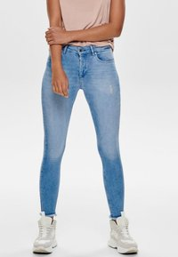 ONLY - Jeans Skinny Fit - light blue denim - 0