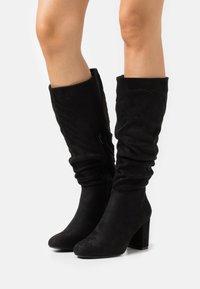 New Look - BILLIE - Vysoká obuv - black - 0