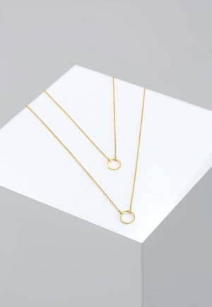 LAYER - Necklace - gold-coloured