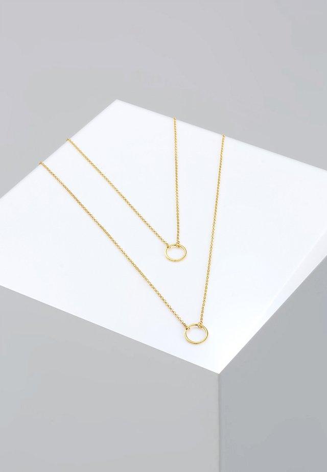 LAYER - Kaulakoru - gold-coloured
