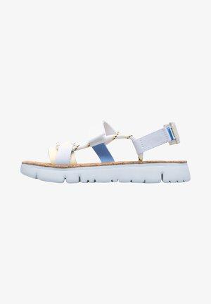 ORUGA - Sandaalit nilkkaremmillä - weiß