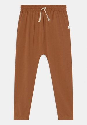 LENNIE - Tracksuit bottoms - amber brown