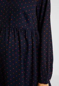 MAMALICIOUS - MLXINIA WOVEN SHIRT DRESS - Shirt dress - navy - 5