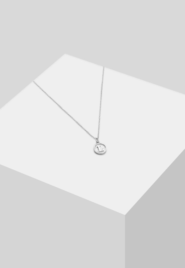 LETTER L - Ketting - silver-coloured