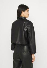 Stylein - VEREL - Faux leather jacket - black - 2