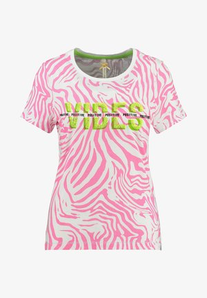 WT CLUB - Print T-shirt - pink
