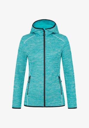 Fleece jacket - turquoise