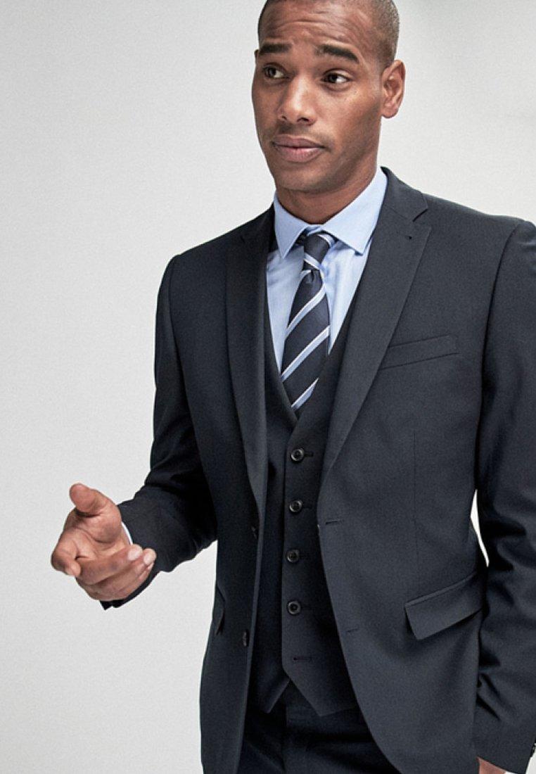 Next - STRETCH TONIC SUIT: JACKET-SLIM FIT - Suit jacket - blue
