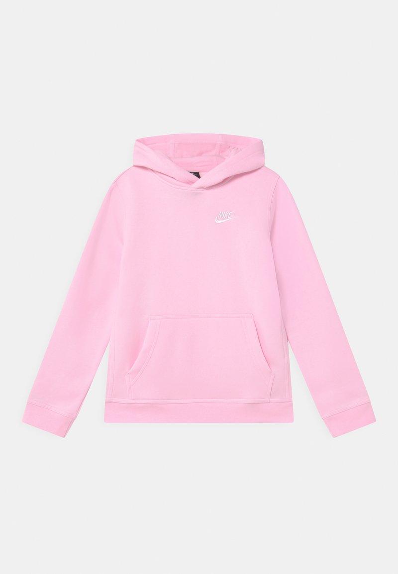 Nike Sportswear - HOODIE CLUB - Mikina skapucí - pink foam/white