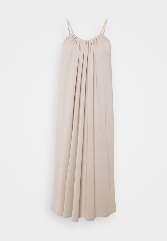OBJWILMA SINGLET DRESS - Jerseyjurk - silver gray