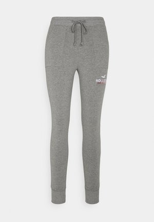 LOGO FLEGGING - Legging - medium grey patch pockets