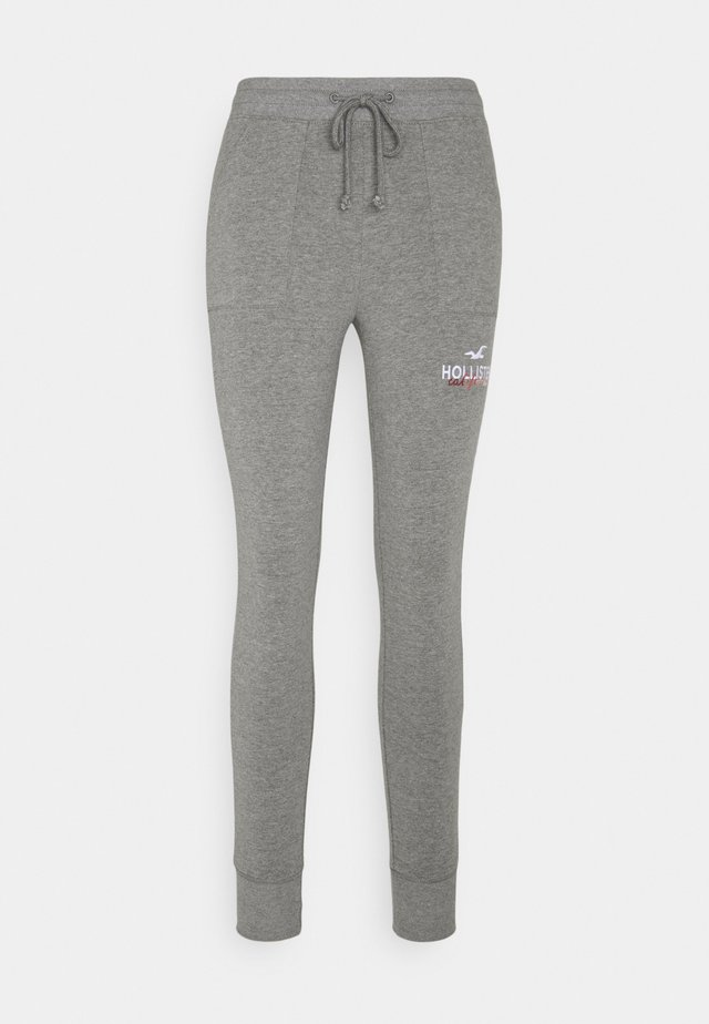 LOGO FLEGGING - Leggings - Trousers - medium grey patch pockets