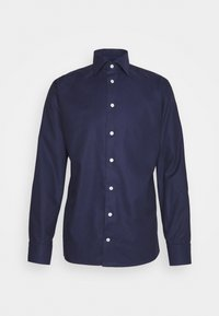 Eton - SLIM FINE DOTTED WEAVE SHIRT - Formal shirt - blue - 0