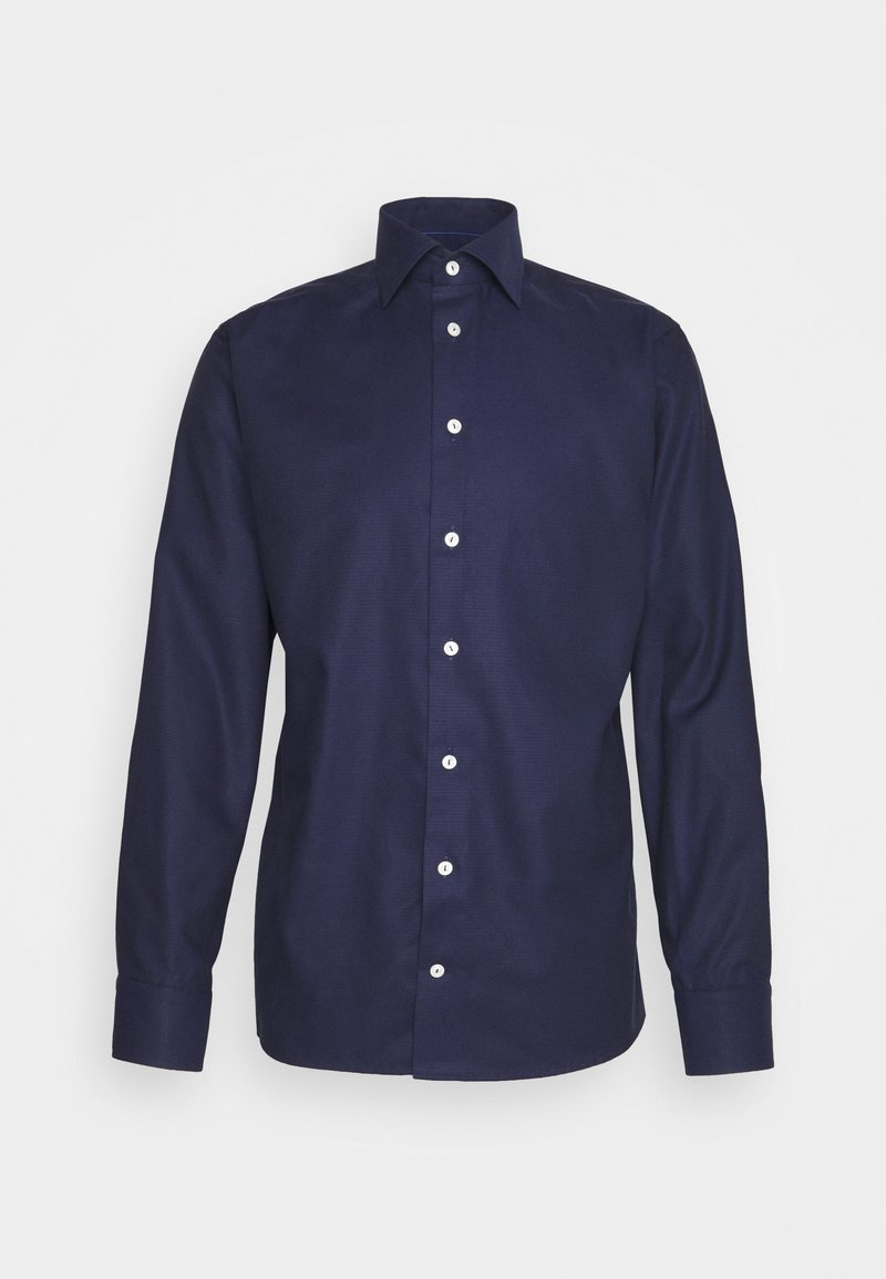 Eton - SLIM FINE DOTTED WEAVE SHIRT - Formal shirt - blue