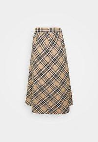 Lounge Nine - LUCY SKIRT - A-snit nederdel/ A-formede nederdele - silver mink - 1