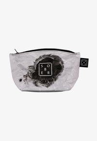 Sober - TRAVEL WASH BAG - Wash bag - white - 0