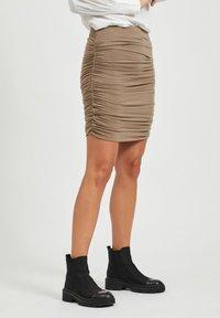Object - Mini skirt - fossil - 0