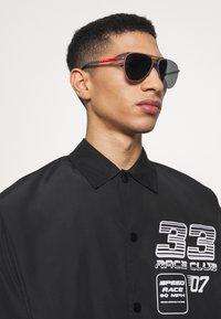 Prada Linea Rossa - Sunglasses - matte grey - 0