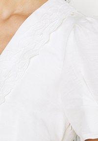 Forever New - HEATHER EMBROIDERED COLLAR MIDI DRESS - Shirt dress - porcelain - 5