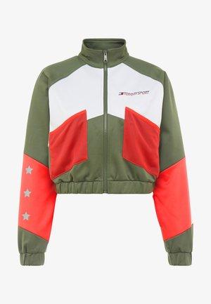 BLOCKED JACKET - Training jacket - green