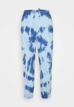 SMUDGE TIE DYE JOGGER - Pantalones deportivos - blue