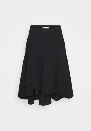 SIMONE - Pleated skirt - black