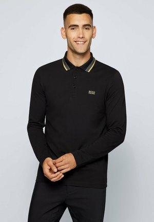 PLISY - Polo shirt - black