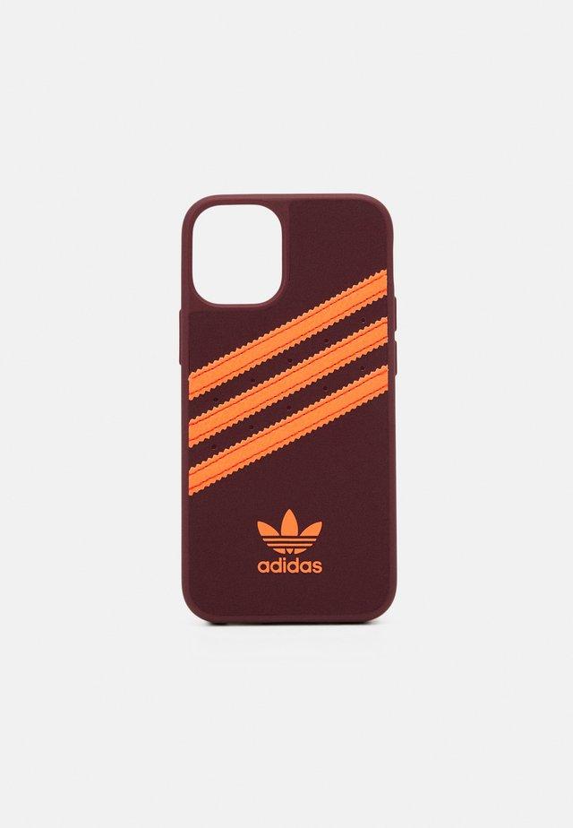 IPHONE 12 MINI - Obal na telefon - maroon/solar orange