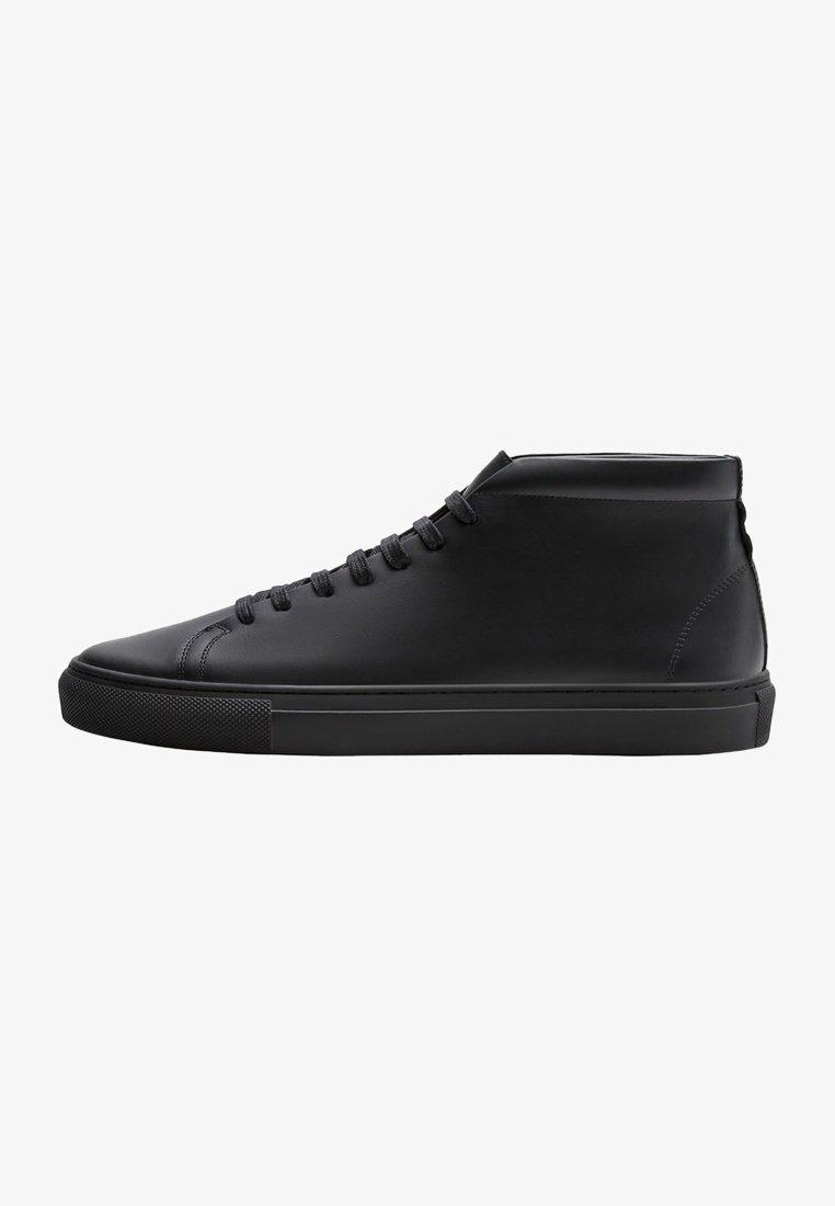 Massimo Dutti - High-top trainers - black