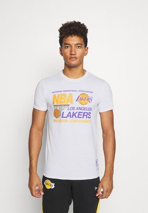 NBA LA LAKERS WESTERN CONFERENCE TEE - Article de supporter - white