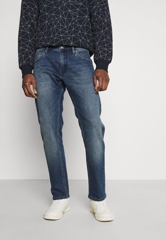 YORK - Straight leg jeans - dark blue