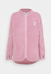 REDWOOD SHERPA JACKET - Fleece jacket - dusty pink