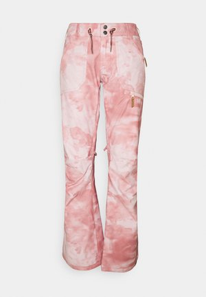NADIA PRINTED - Pantalon de ski - silver pink