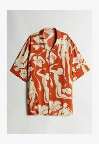 Bershka - Shirt - orange - 4