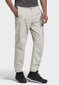 adidas Performance - TERREX HIKERELAX TROUSERS - Trousers - grey - 4