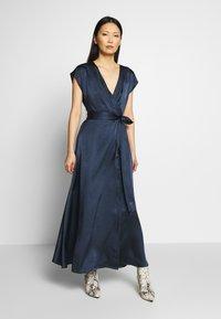 Love Copenhagen - LORETTA DRESS LONG - Maxi dress - maritime blue - 0