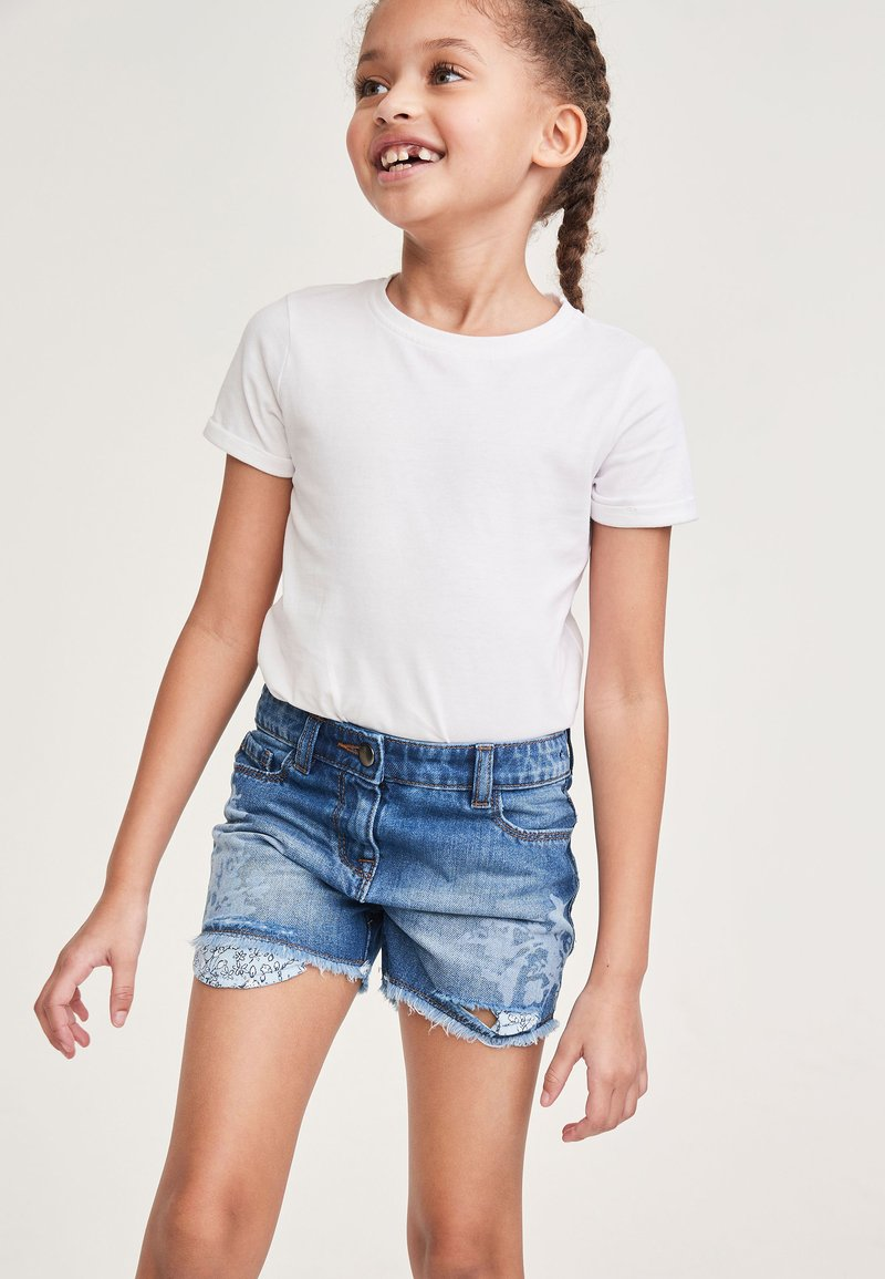 Next - Denim shorts - light blue denim