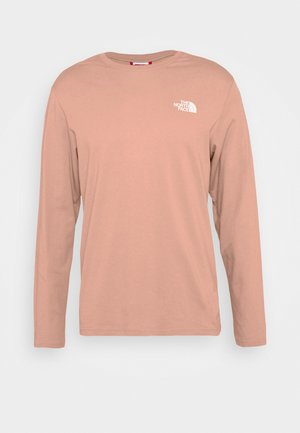 GRAPHIC TEE UTILITY - Long sleeved top - pink clay