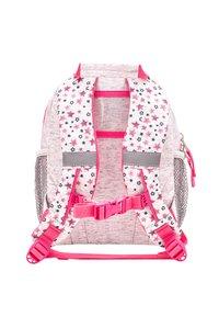 Belmil - MINI KIDDY - Rucksack - light grey  pink - 1