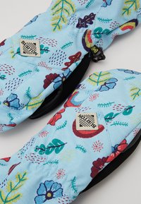 Burton - KIDS PROFILE MITT KELP - Rękawiczki z jednym palcem - light blue/multi-coloured - 3