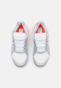 adidas Performance - STELLA COURT - Multicourt tennis shoes - footwear white/silver metallic/solar red - 3
