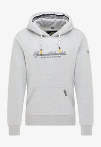 Schmuddelwedda - Hoodie - hellgrau melange - 4