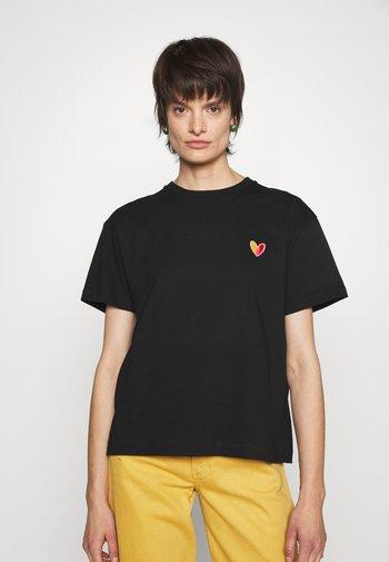 WOMENS - Basic T-shirt - black