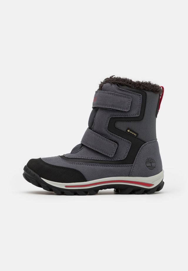 CHILLBERG - Snowboot/Winterstiefel - medium grey/red